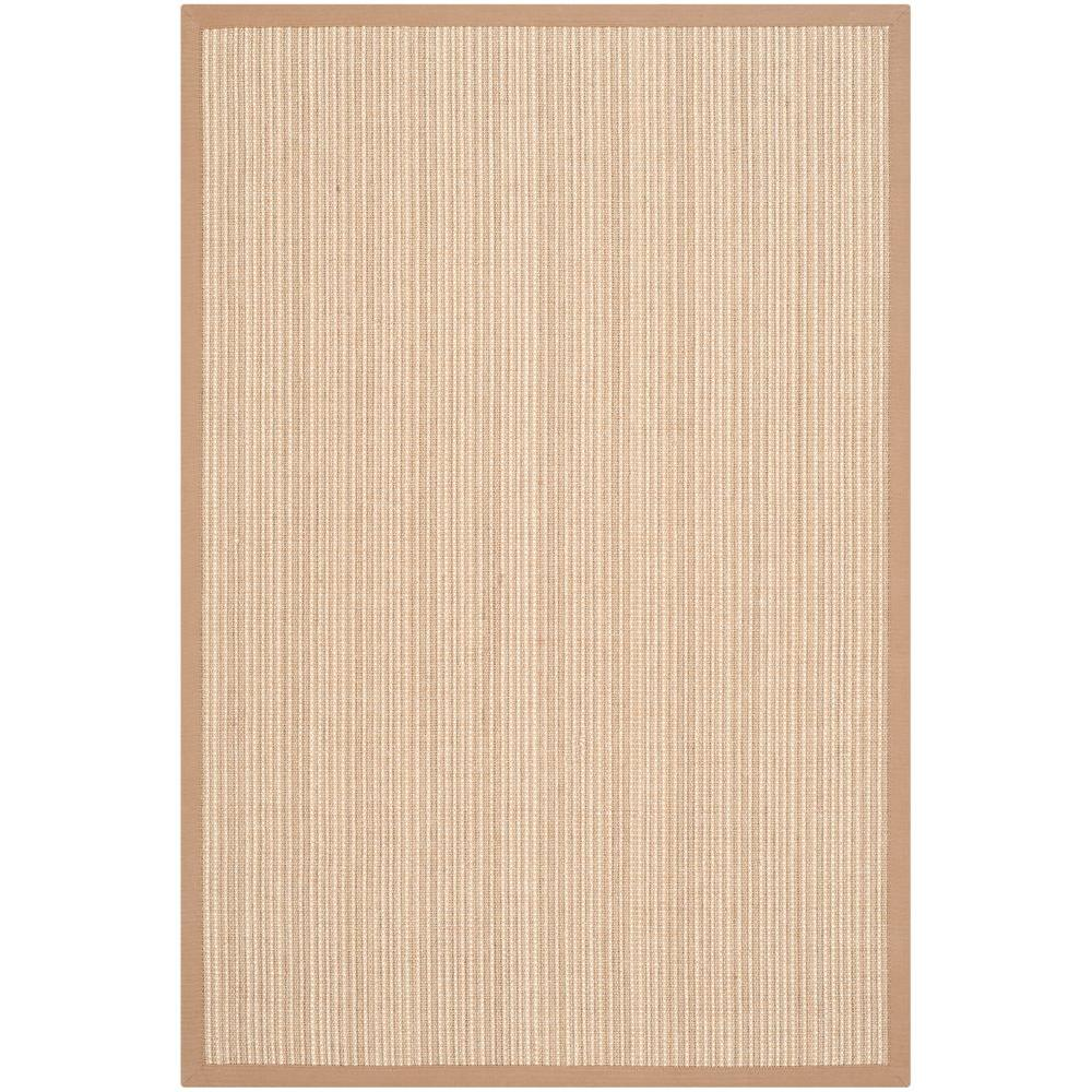 Safavieh Natural Fiber Tan 3 ft. x 5 ft. Area Rug