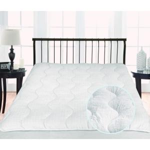Twice as Nice 300 Thread Count Reversible King Mattress Pad by