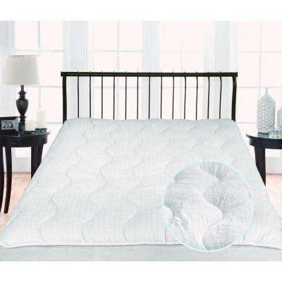 Twice as Nice 300 Thread Count Reversible Queen Mattress Pad