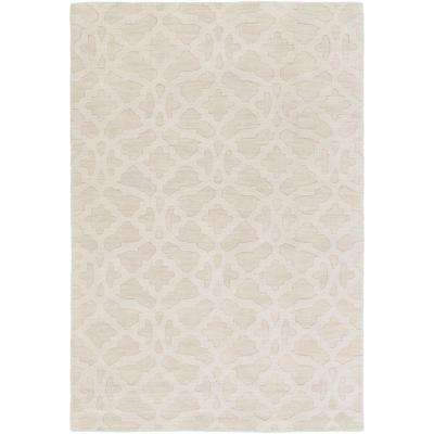 Metro Kristen Ivory 10 ft. x 14 ft. Indoor Area Rug