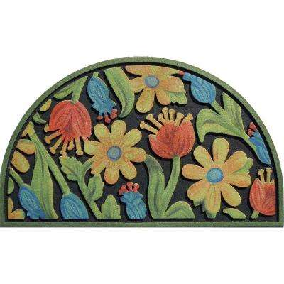 Spring Romance 18 in. x 30 in. Door Mat