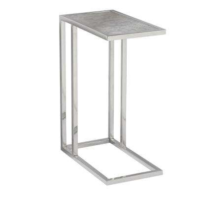 Contemporary Rectangular Glass Side Table