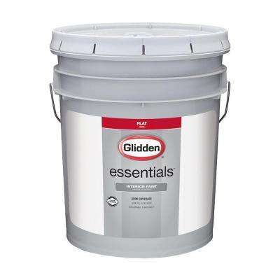 5 gal. White Flat Interior Paint