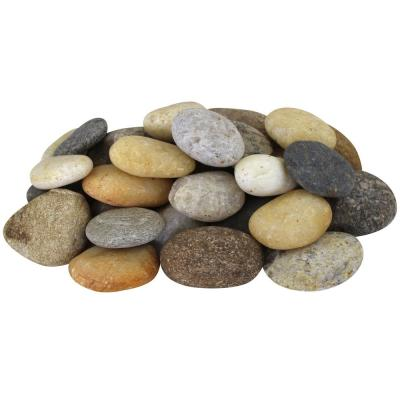27.5 cu. ft. 1 in. to 3 in. 2200 lbs. Medium Mixed River Pebbles