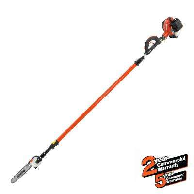 12 in. 25.4cc Gas 2-Stroke Cycle Telescoping Pole Pruner Saw with Loop Handle
