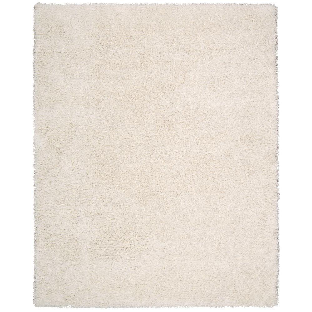 Nourison Splendor White 7 ft. 6 in. x 9 ft. 6 in. Area Rug