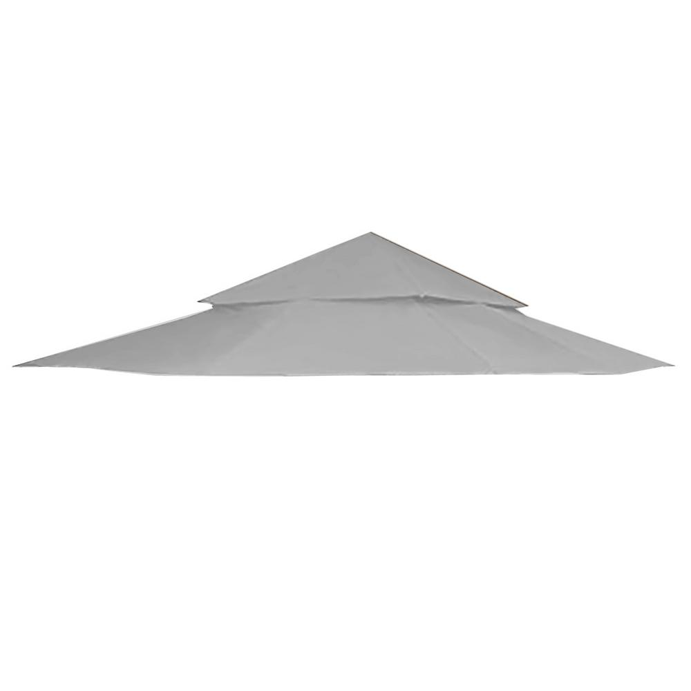 garden winds riplock 350 slate gray replacement canopy top cover for 12 ft x 12 - Garden Winds Gazebo
