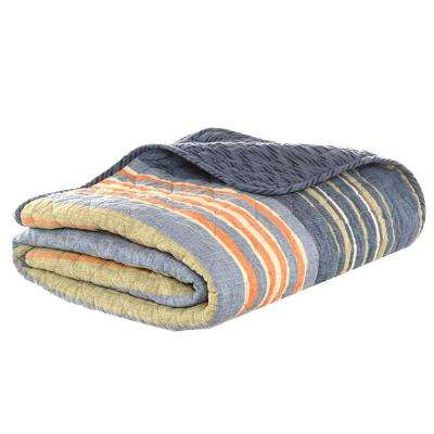 50 in. x 60 in. Yakima Valley Persimmon Quilted Throw