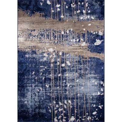 Monterey Blue 9 ft. x 12 ft. Indoor Area Rug