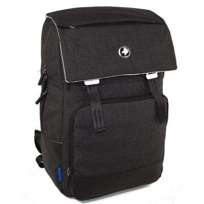 Varsity Collection Volt 18 in. Light Grey and Black  Backpack