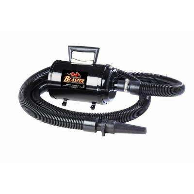4.0 Peak HP Air Force Baster with 12 ft. Cord, Motorcycle/Car Dryer, 10 Amp/1,200-Watt and 2 Stage Dual Fan