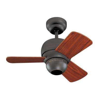 Micro 24. 24 in. Roman Bronze Ceiling Fan