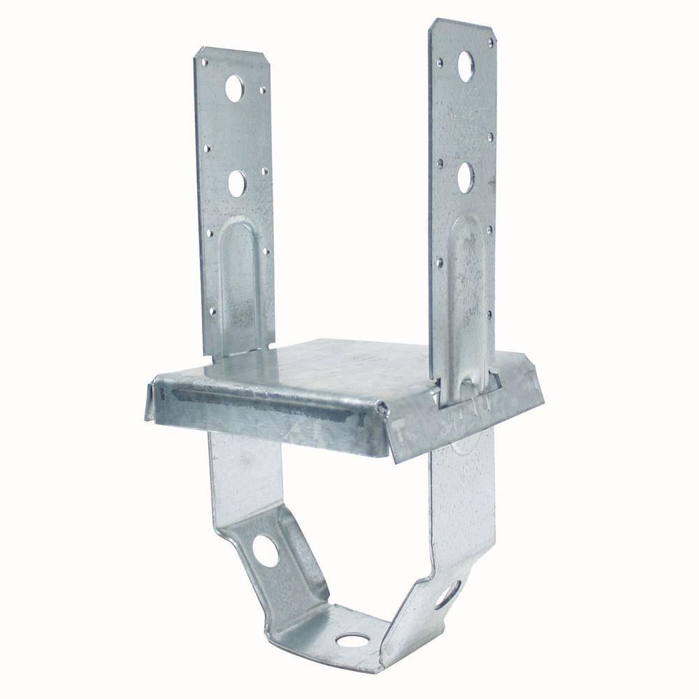 Simpson Strong-Tie PBS 6 in. x 6 in. Galvanized Standoff Post Base