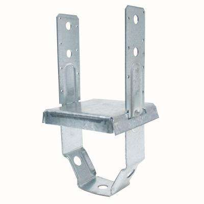 PBS 6 in. x 6 in. Galvanized Standoff Post Base