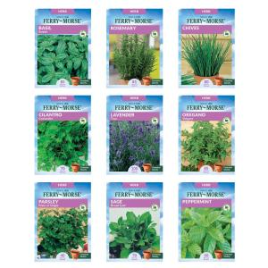 Collection of Popular Herb Seed (9 Pack)