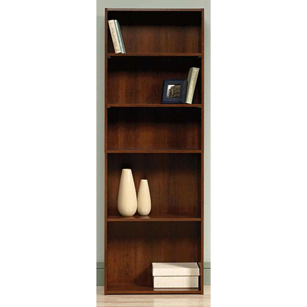 Sauder Beginnings Collection 71 In 5 Shelf Bookcase In