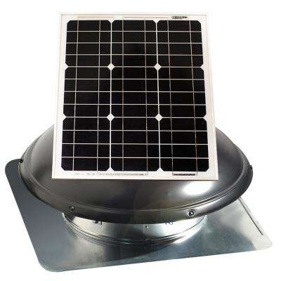 1820 CFM 25-Watt Solar Powered Attic Fan