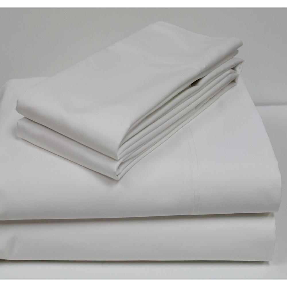 Pacific Coast Textiles White 800-Count Egyptian Cotton King Sheet Set