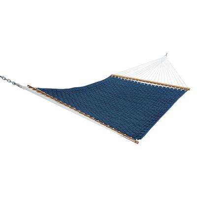 13 ft. Large Soft Weave Hammock in Blue