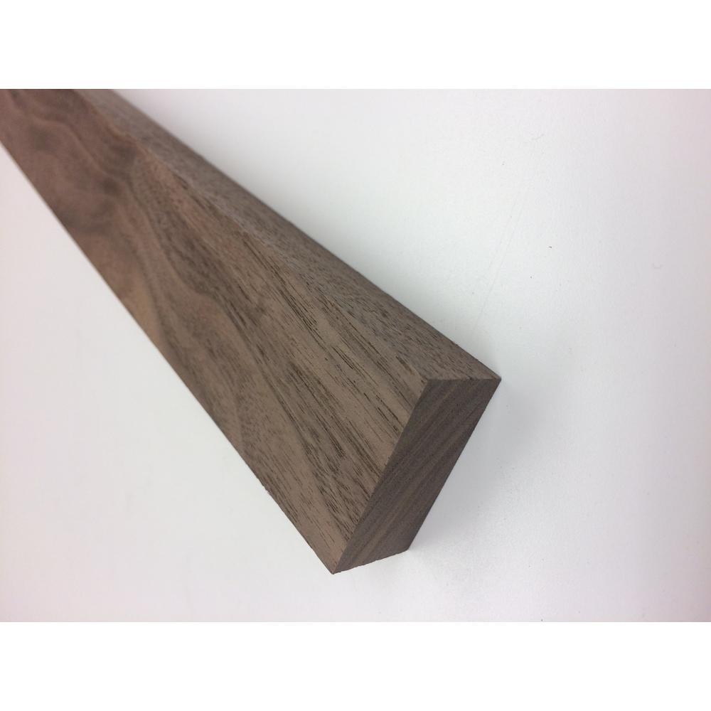 Kelleher 1 in. x 2 in. S4S Walnut Board