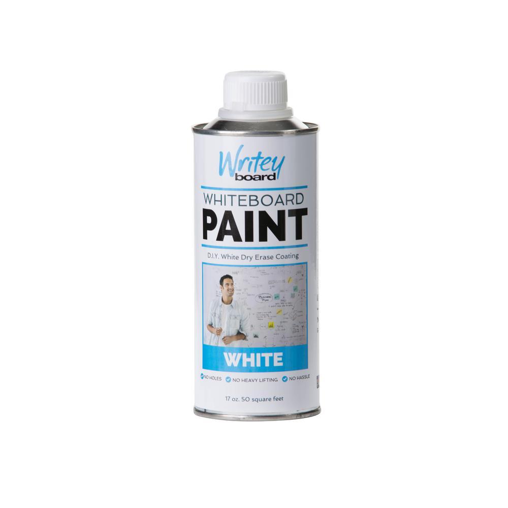 50 sq. ft. White Gloss Whiteboard Paint Kit