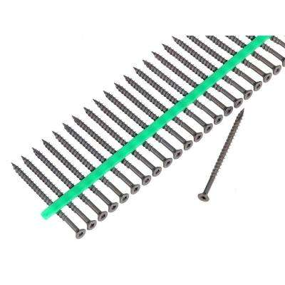 #8 3 in. Internal Square Flat-Head Wood Deck Screws (1200-Pack)