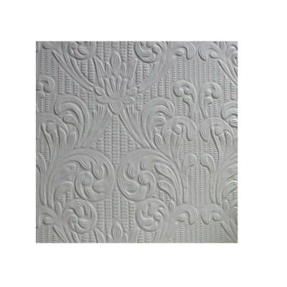 56.4 sq. ft. Charles Paintable Supaglypta Wallpaper
