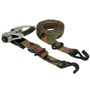 Keeper 05722 8 x 1-1//4 Ratchet Tie-Down 2 Pack