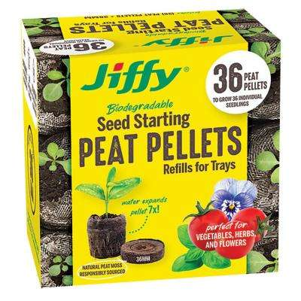 36 mm Peat Pellet Seed Starting Kit Refill