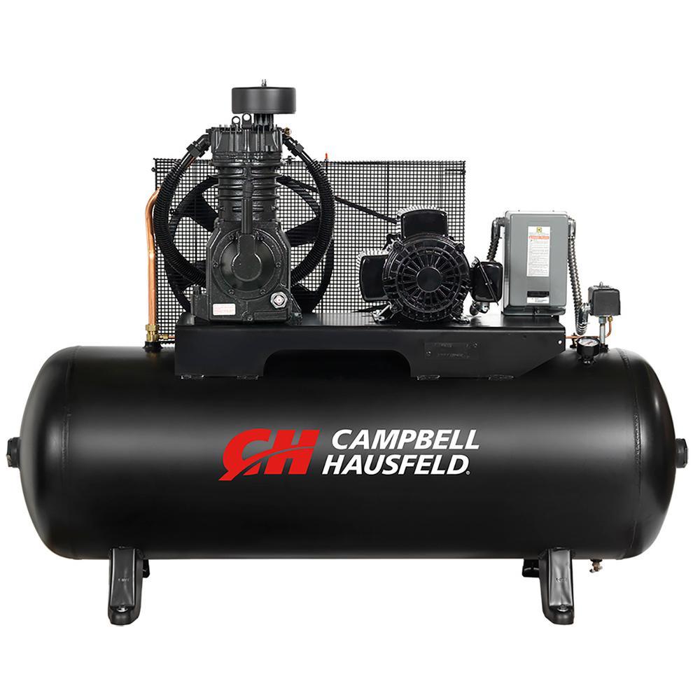 campbell hausfeld 80 gal electric air compressorce7053