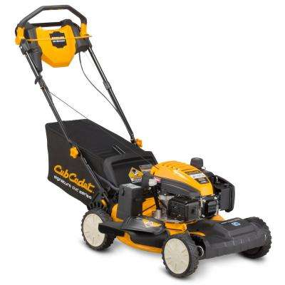21 in. 159cc Front-Wheel Drive 3-in-1 Gas Walk Behind Lawn Mower with Push Button Electric Start