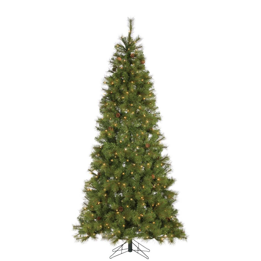 7.5 ft. Hard Mixed Needle Charleston Artificial Christmas Tree with 400
