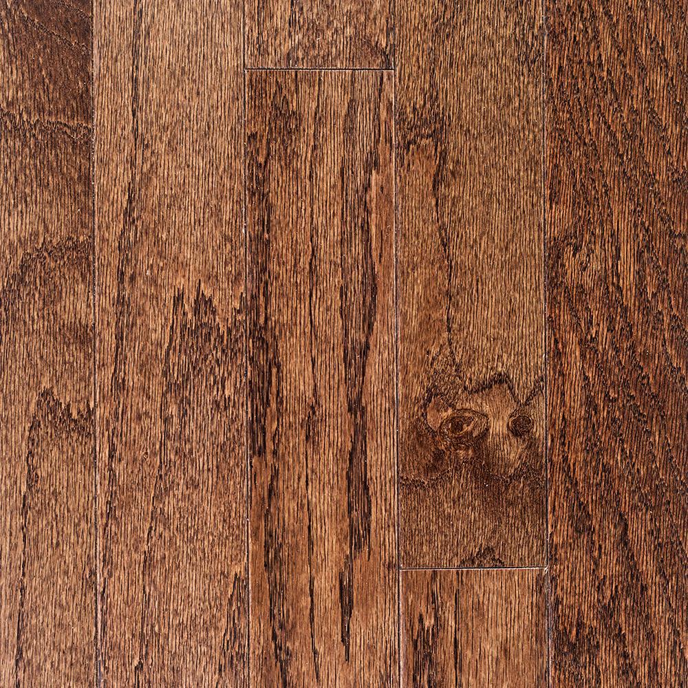 Oak Bourbon 3/8 in. Thick x 3 in. Wide x Random Length Engineered Hardwood Flooring (25.5 sq. ft. / case)