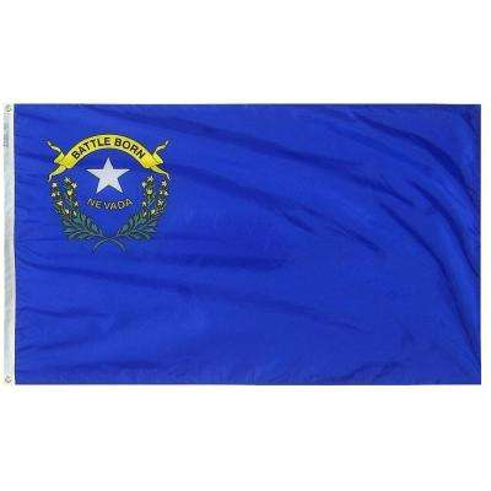4 ft. x 6 ft. Nevada State Flag