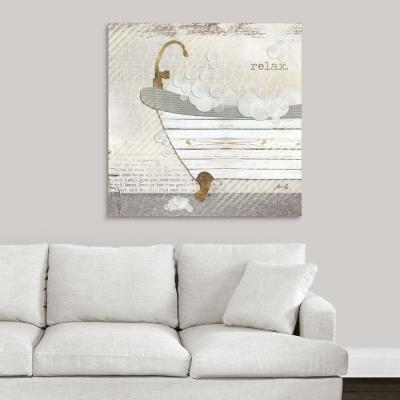 """""""Relax"""" by Marla Rae Canvas Wall Art"""