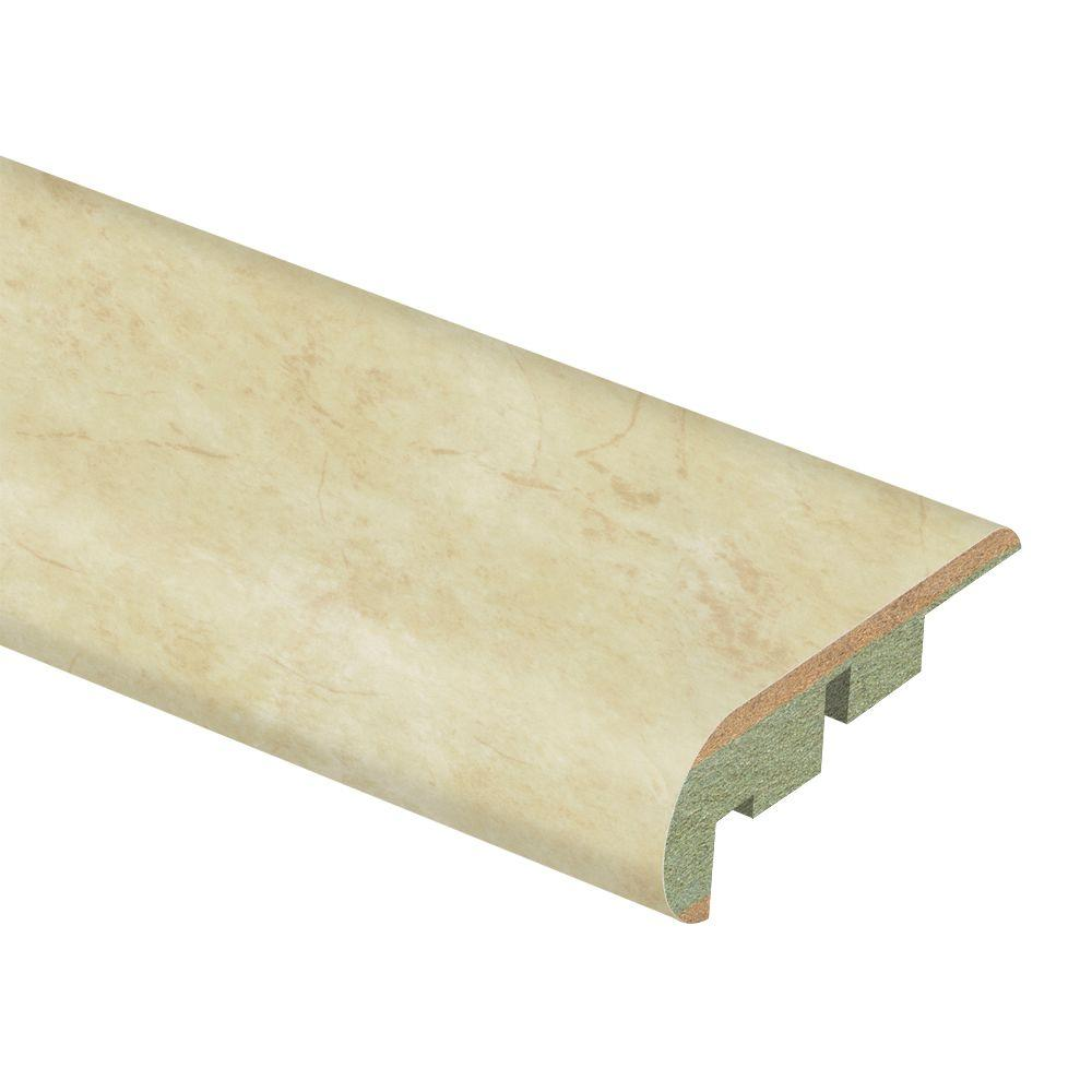 Zamma Antique Linen 3/4 in. Thick x 2-1/8 in. Wide x 94 in. Length Laminate Stair Nose Molding