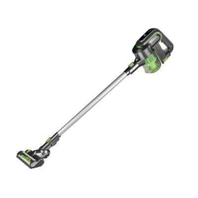 2-in-1 Cordless Cyclonic Stick Vacuum Cleaner in Green/Silver