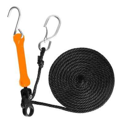 12 ft. Polyester Rope and 5 in. Polyurethane Bungee