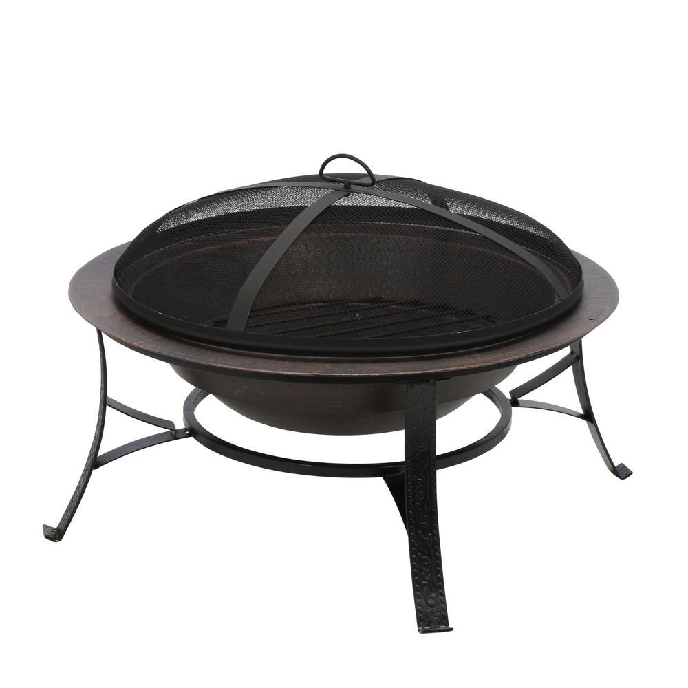 Cobraco Cast Iron Copper Fire Pit