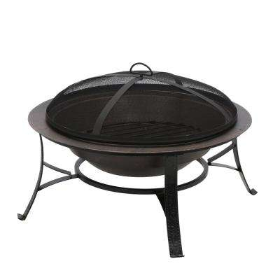 Cast Iron Copper Fire Pit