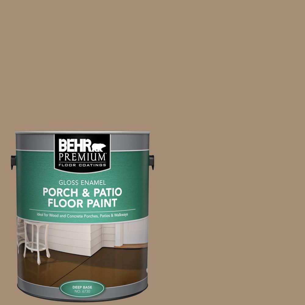1 gal. #SC-121 Sandal Gloss Enamel Interior/Exterior Porch and Patio Floor Paint