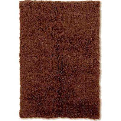 4 X 6 Brown Machine Washable Area Rugs Rugs The Home Depot