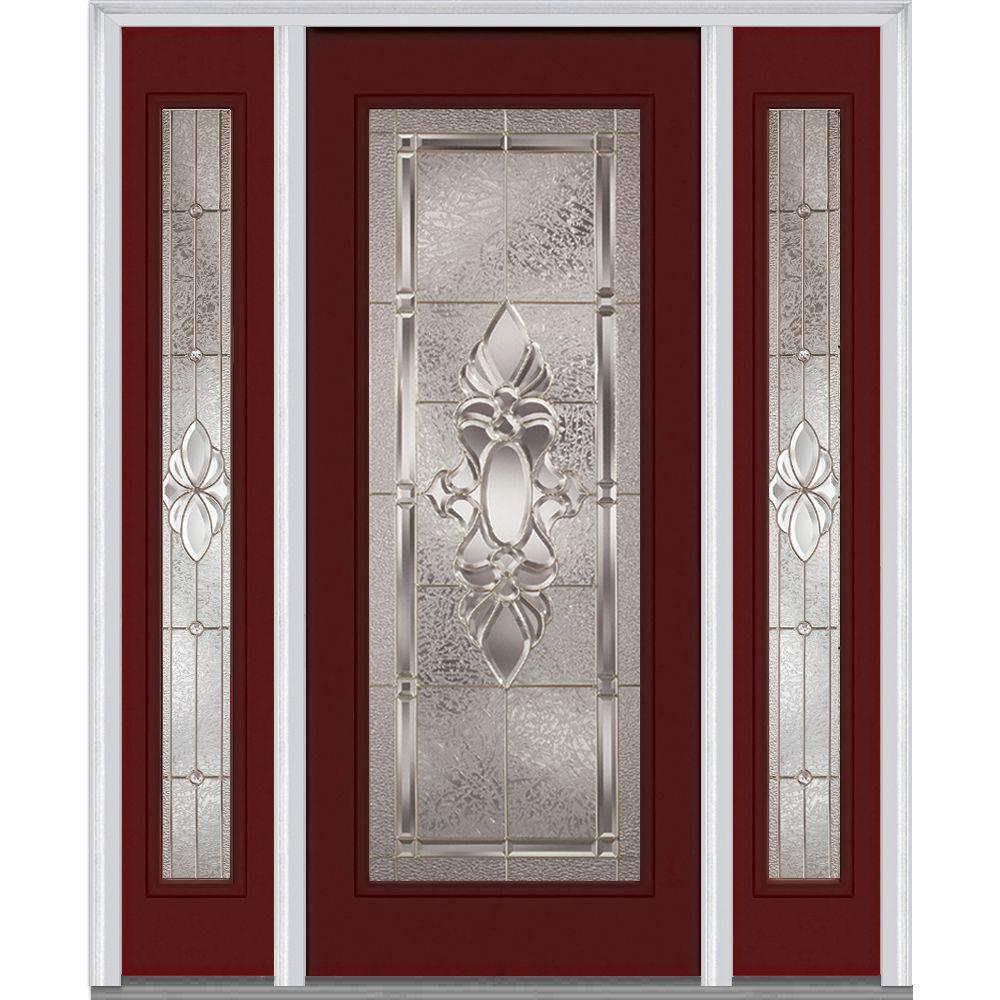 cl english half doors solid lite door finish in glass your mahogany choice of with sidelights clearance pics chestnut entry exterior index