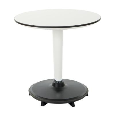 White Active Height Adjustable Table