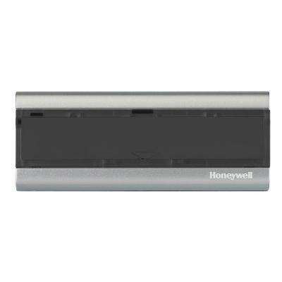 Wireless Push Button, Black and Silver, Converter and Chime Extender for Honeywell 300 Series and Decor Door Chimes