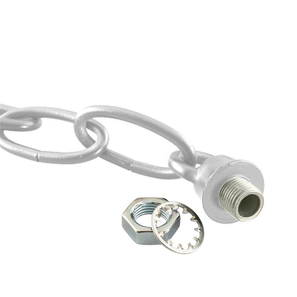 Polished Nickel Loop and Chain Kit