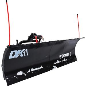 Detail K2 Storm II 84 in  x 22 in  Snow Plow for Trucks and SUVs (Requires  Custom Mount - Sold Separately)-STOR8422 - The Home Depot