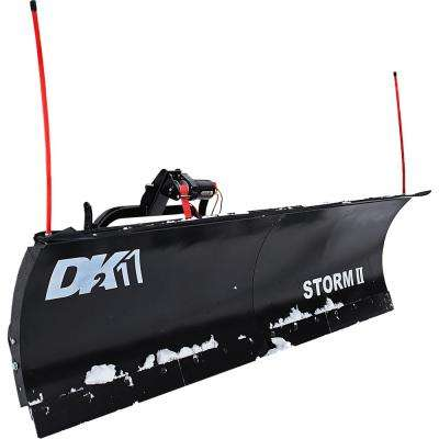 Storm II 84 in. x 22 in. Snow Plow for Trucks and SUVs (Requires Custom Mount - Sold Separately)