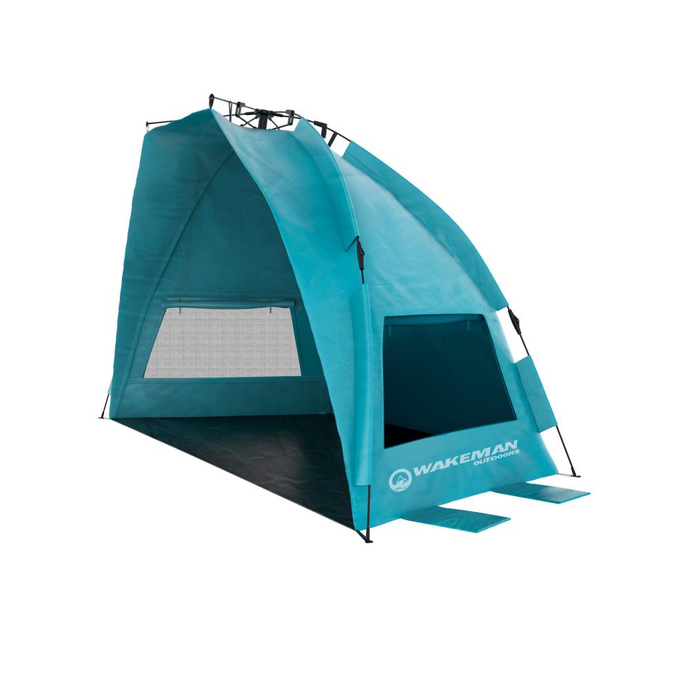 Turquoise Pop Up Beach Tent Sun Shelter