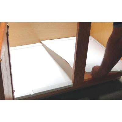 Trimmable Under Sink Liner Tray for Sink Base Cabinets from 39 in. to 55 in.